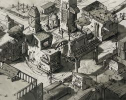 city concept full by tapsilogs