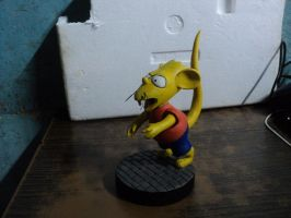 Bart Simpson rat kid by saxumsando