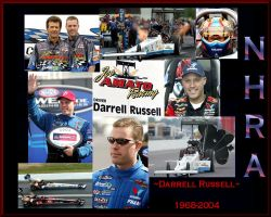 NHRA Darrell Russell by puddlz