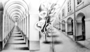 pencil perspective by vssh