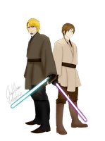 Alan and Eric - Star Wars AU by ChibiChan-Valentine