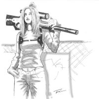 Ballistic Sketch by overshadow-concept