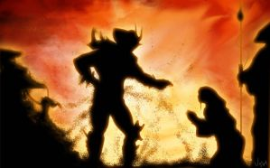 Feel the power of Shao Kahn by mito0101