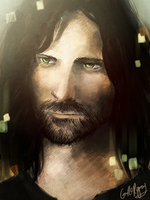 Aragorn by camibee