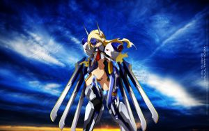 Mu-12 BlazBlue Sky version by ultima-i