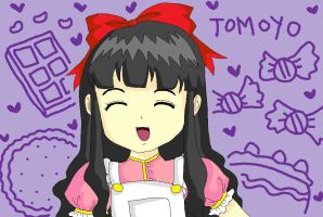 tomoyo - sweets by anime-lover05