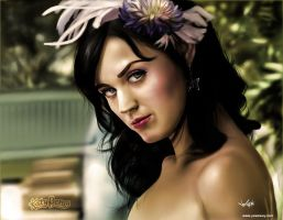 Katy Perry 2nd drawing by SkyFinch