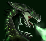 Toxic dragon by Titanium-Zen