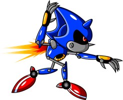Metal Sonic by JamesmanTheRegenold