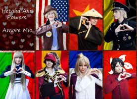 Hetalia Axis Powers - Amore Mio v1 by altugisler