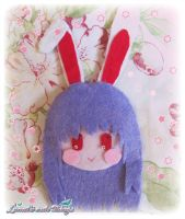 Inaba Reisen Brooch - Touhou Project by NyanRuki