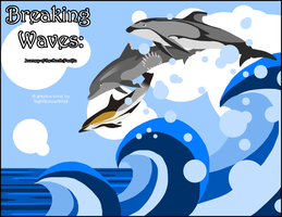 Breaking waves: COVER - REVAMP by Morgan-Michele