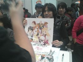 NYCC 2012 - Tales of Xillia Poster Signing by DestinyDecade