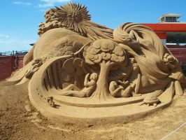 Frankston Sandcastle Exhibition by Kevindevalle
