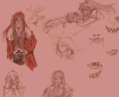 Grell Sketches lolface by Kyogou
