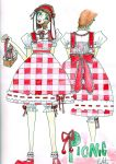 Picnic Lolita by kheartwing