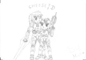 Cheese! :D by XVeeLicious