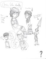 Classic Who doodles by Revolution-Nein