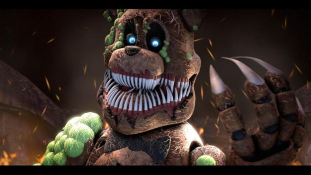 Twisted Freddy by rhydonYT