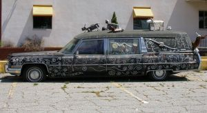 Stock - Tricked Out Death Ride Hearse by Jewlgurl