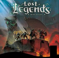 Lost Legends Coverart by the-John-Doe