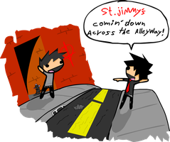 St. jimmy by Art-Josh