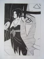 Manga drawings: Uchiha by DTR2111MANGA