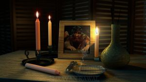 Focus out candle light by shravanrawal