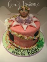 Rapunzel Cake For Kate by gertygetsgangster