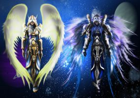 Angels by MyStyleArtwork