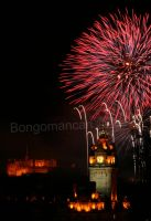 Edinburgh Fireworks 1 by Bongomancan
