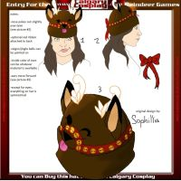 Reindeer Hat Contest Entry by Sophillia