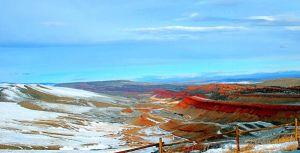 Red Canyon Windriver HDR by michaelgoldthriteart