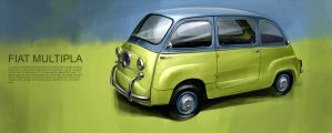Fiat Multipla by GoodrichDesign