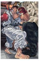 Tribute SFIII 3rd Strike 002B by EnricoManiago