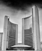 Toronto City Hall by Jack-Nobre
