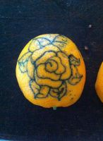 Rose tattoo by Jessicaxoxo4
