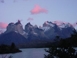 Mountains From The Patagonia by Superpoo