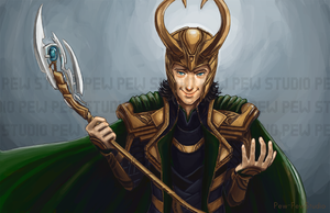 Loki by Pew-PewStudio