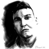 Speed Paint Self by aaronprovost
