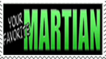 Your Favorite Martian Stamp by THX1085