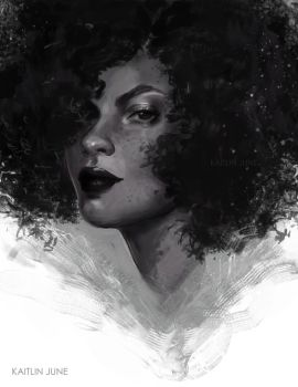 Fro Sketch by black-creme
