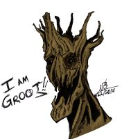 Another Groot!!! by ConstantM0tion