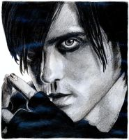 Jared Leto drawing No 2 by EwaBlackWidowVsHare