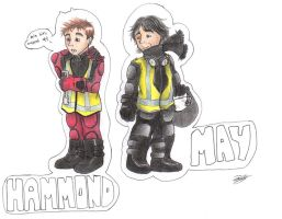 Top Gear - Richard and James by PleaseFreezeMe