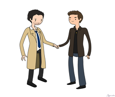Destiel Time by Lapruccia