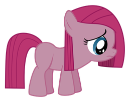 Pinkie Pie Filly (Sad) by Serenawyr