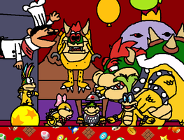 Bowser Jr's Birthday by ToxicIsland