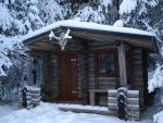 The cabin in the woods by Turbopuusti