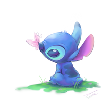 Stitch's spring by takeclaire